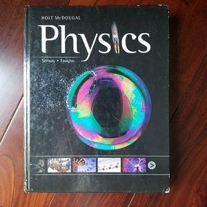 Holt, McDougal Physics textbook 2012 Used (hard co
